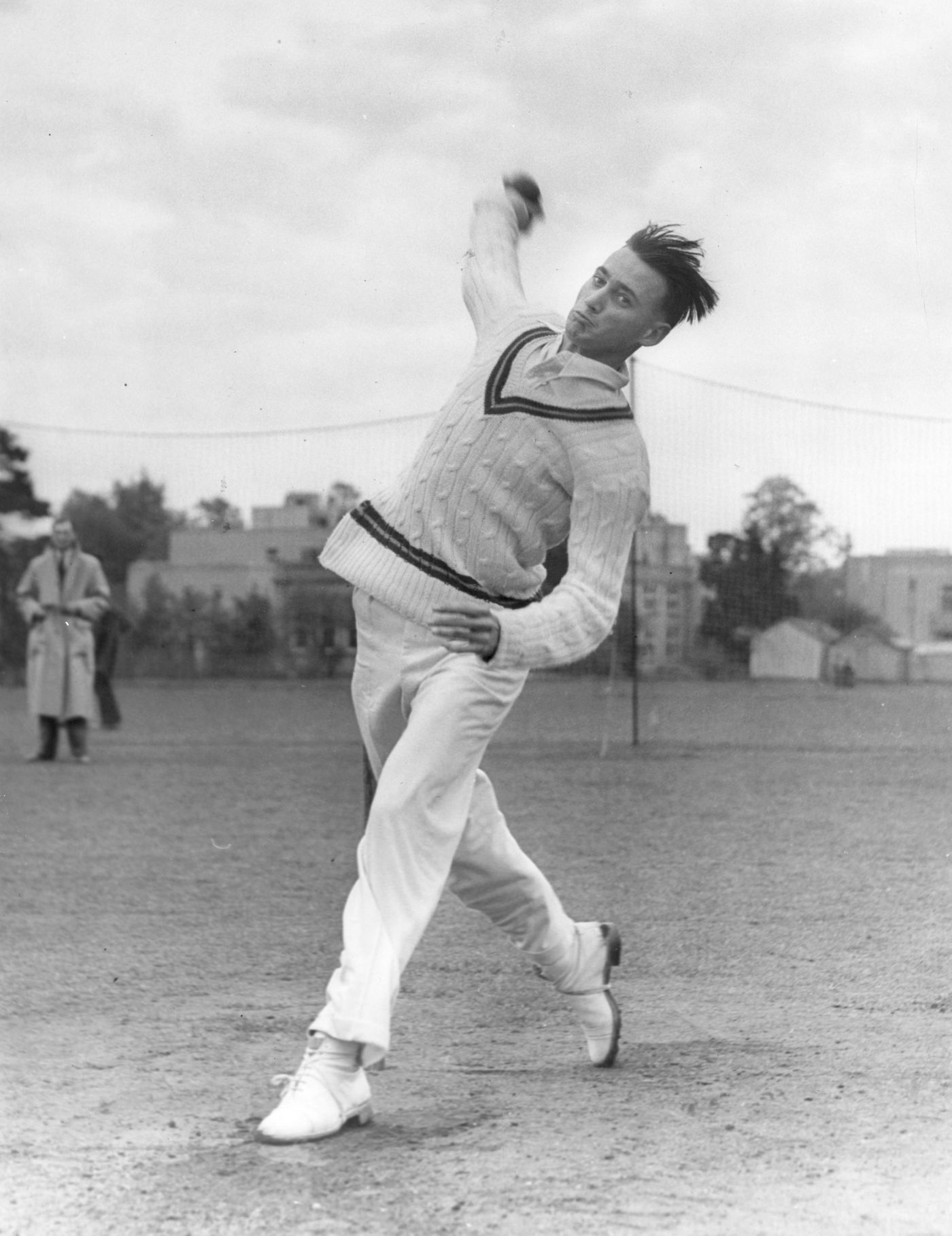 The OG: Hugh Tayfield took 170 Test wickets for South Africa in the 1950s