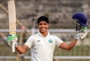 Rahul Dalal celebrates reaching 150,  Arunachal Pradesh v Bihar, Ranji Trophy 2019-20, Patna, 1st day, February 4, 2020