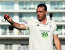 Kyle Abbott after taking seven wickets in an innings and 17 in the match for Hampshire against Somerset, County Championship Division One, Southampton, September 18, 2019