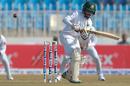 Mominul Haque pats one away, Pakistan v Bangladesh, 1st Test, Rawalpindi, 1st day, World Test Championship, February 7, 2020