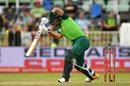 Reeza Hendricks drives, South Africa v England, 2nd ODI, Durban, February 7, 2020