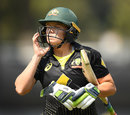 Alyssa Healy's lean tri-series series continued with a duck, Australia v India, T20I tri-series, Junction Oval, February 8, 2019