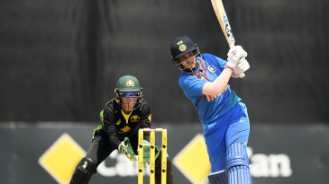 Shafali Verma gave India a flying start to their chase