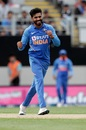 Ravindra Jadeja is an expert at varying his pace to keep the runs down, New Zealand v India, 2nd ODI, Auckland, February 8, 2020