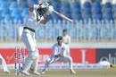 Shan Masood drives on the up, Pakistan v Bangladesh, 1st Test, Rawalpindi, 2nd day, February 8, 2020
