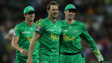 Dale Steyn turned out for Melbourne Stars recently