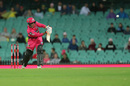 Josh Philippe flicks over the leg side, Sydney Sixers v Melbourne Stars, BBL 09 final, Sydney, February 8, 2020