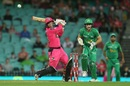 Josh Philippe mistimes a pull, Sydney Sixers v Melbourne Stars, BBL 2019-20 final, Sydney, February 8, 2020