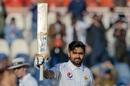Babar Azam celebrates his century, Pakistan v Bangladesh, 1st Test, Day 2, February 8, 2020