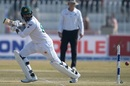 Haris Sohail guides the ball behind square, Pakistan v Bangladesh, 1st Test, Rawalpindi, February 9, 2020