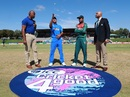 Akbar Ali and Priyam Garg at the toss, Bangladesh U-19s v India U-19s, Final, Potchefstroom, February 9, 2020