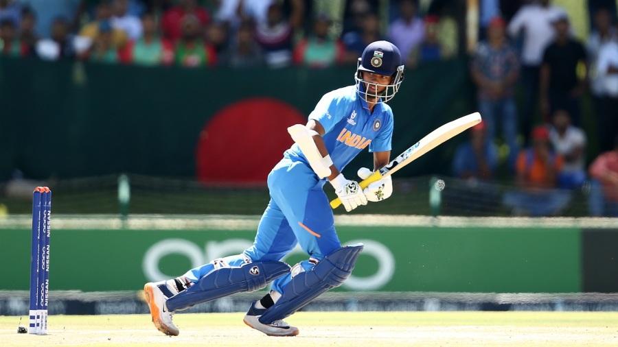 Yashasvi Jaiswal works one towards fine leg