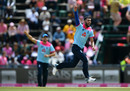 Saqib Mahmood claimed his maiden ODI wicket, South Africa v England, 3rd ODI, Johannesburg, February 9, 2019