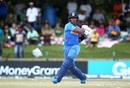 Dhruv Jurel deals with a short ball, Bangladesh U-19s v India U-19s, Final, Potchefstroom, February 9, 2020