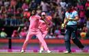 Lutho Sipamla celebrates the wicket of Jonny Bairstow, South Africa v England, 3rd ODI, Johannesburg, February 9, 2019
