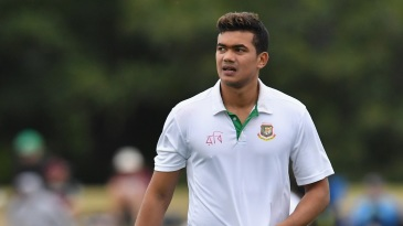 Taskin Ahmed picked up seven wickets against Central Zone