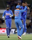 Yuzvendra Chahal ended the big opening stand, New Zealand v India, 3rd ODI, Mount Maunganui, February 11, 2020