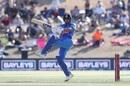 Manish Pandey swivels to play a pull, New Zealand v India, 3rd ODI, Mount Maunganui, February 11, 2020