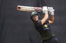 Ashleigh Gardner goes over the infield, Australia v India, women's T20I tri-series final, Melbourne, February 12, 2020