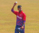 Sandeep Lamichhane set up Nepal's win with a six-wicket haul, Nepal v USA, Men's CWC League 2, Kirtipur, February 12, 2020