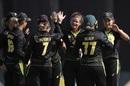 Jess Jonassen ran through the India middle-order, Australia v India, women's T20I tri-series final, Melbourne, February 12, 2020
