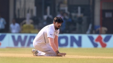 Ishant Sharma has been laid low by a grade-three tear in his ankle