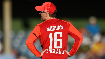 Eoin Morgan's England were ragged in the Powerplay