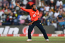 Adil Rashid appeals for lbw, South Africa v England, 1st T20I, East London, February 12, 2020