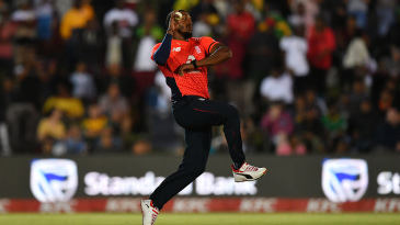 Chris Jordan impressed at the death