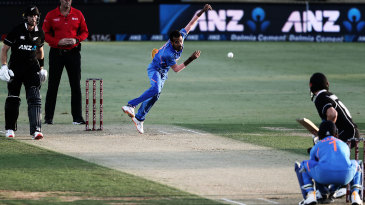 Even though he's slow through the air, more often than not, Yuzvendra Chahal gets some zip of the surface, regardless of what the pitch is like
