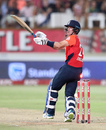 Joe Denly played on via his forearm, South Africa v England, 2nd T20I, Durban, February 14, 2020