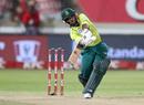 Temba Bavuma swings down the ground, South Africa v England, 2nd T20I, Durban, February 14, 2020
