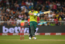 David Miller bludgeons a pull, South Africa v England, 2nd T20I, Durban, February 14, 2020