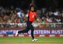 Chris Jordan picked up two in two, South Africa v England, 2nd T20I, Durban, February 14, 2020
