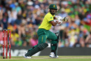 Temba Bavuma steers one behind square, South Africa v England, 3rd T20I, Centurion. February 16, 2020