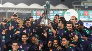 The Quetta Gladiators are the defending PSL champions