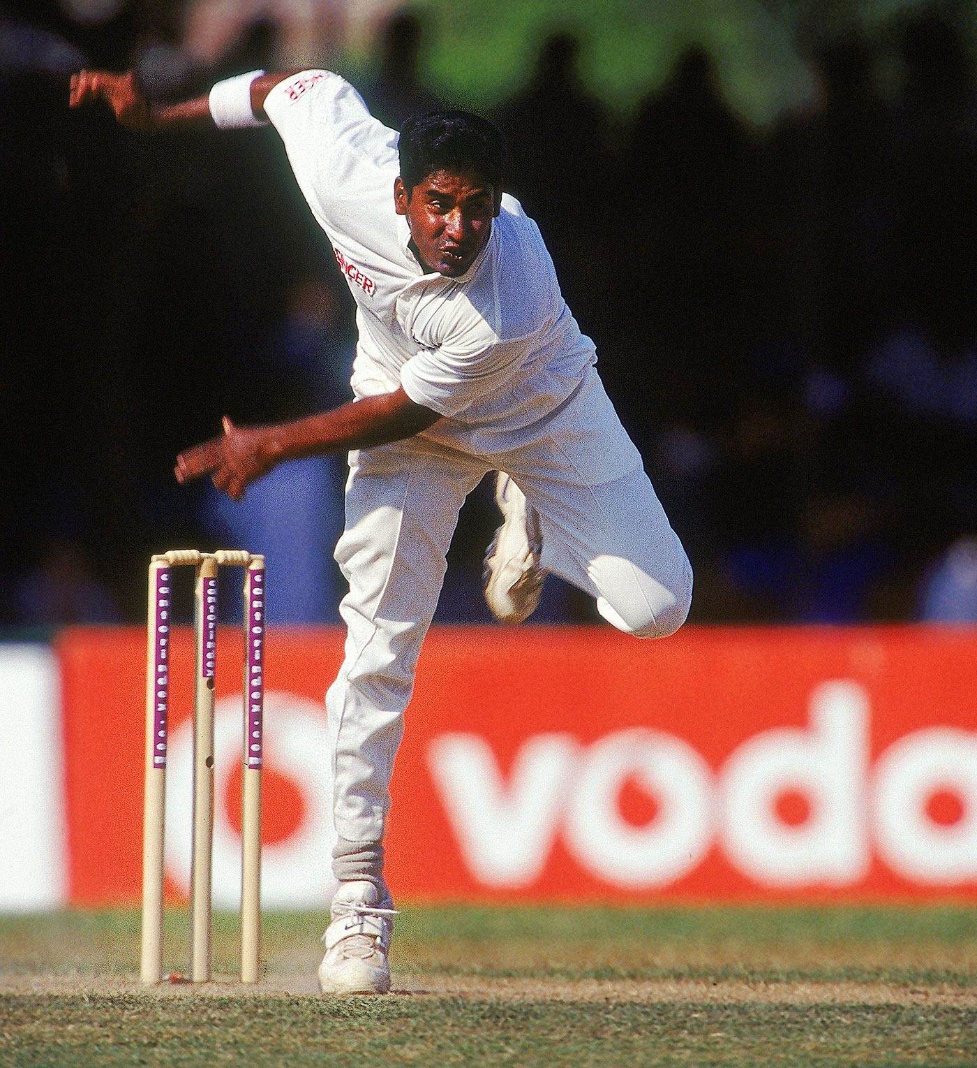 Chaminda Vaas took two ten-fors in his career - against New Zealand in Napier in 1995, and against West Indies in Colombo six years later