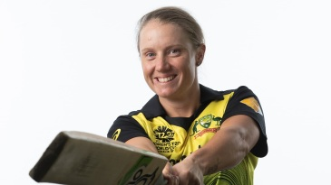 Alyssa Healy had a string of single-digit scores in the tri-series