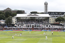 It was overcast for most of day one at the Basin Reserve, New Zealand v India, 1st Test, Wellington, 1st day, February 21, 2020