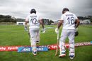 Prithvi Shaw and Mayank Agarwal - India's opening pair at the Basin Reserve, New Zealand v India, 1st Test, Wellington, 1st day, February 21, 2020