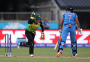 Alyssa Healy celebrates a fortuitous stumping of Harmanpreet Kaur, Australia v India, Women's T20 World Cup, Sydney, February 21, 2020