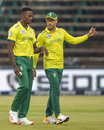 Kagiso Rabada and Faf du Plessis were back in South Africa colours, South Africa v Australia, 1st T20I, Johannesburg, February 21, 2020