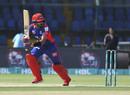 Babar Azam turns into the leg side, Karachi Kings v Peshawar Zalmi, Pakistan Super League, Karachi, February 21, 2020