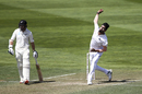 Ishant Sharma in his delivery stride New Zealand v India, 1st Test, Wellington, 2nd day, February 22, 2020