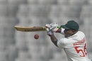 Prince Masvaure steers one to third man, Bangladesh v Zimbabwe, Only Test, Dhaka, 1st day, February 22, 2020