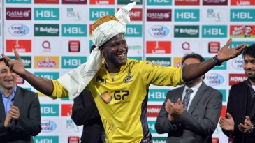 Darren Sammy goes traditional after Peshawar Zalmi's PSL title win in 2017