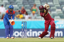 Stafanie Taylor gets into a good position to drive, Thailand v West Indies, T20 World Cup, Group B, Perth, February 22, 2020