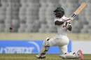 Regis Chakabva swats one away, Bangladesh v Zimbabwe, Only Test, Dhaka, 2nd day, February 23, 2020