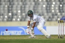 Najmul Hossain Shanto dabs one to point, Bangladesh v Zimbabwe, Only Test, Dhaka, 2nd day, February 23, 2020