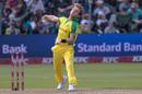 Adam Zampa bowls, South Africa v Australia, 2nd T20I, Port Elizabeth, February 23, 2020
